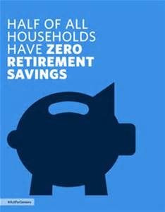 pig no savings for retirement